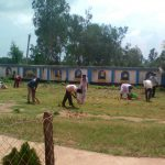 SAYAPARA samithi of MIDNAPORE(WEST) district does Seva