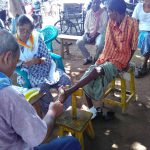 JHARGRAM samithi of MIDNAPORE(WEST) district does Seva