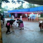 Karanj  samithi of Balasore2 district does Seva