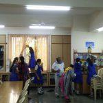 Ghatkopar samithi of Mumbai district does Seva