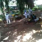 Malkajgiri samithi of Hyderabad district does Seva