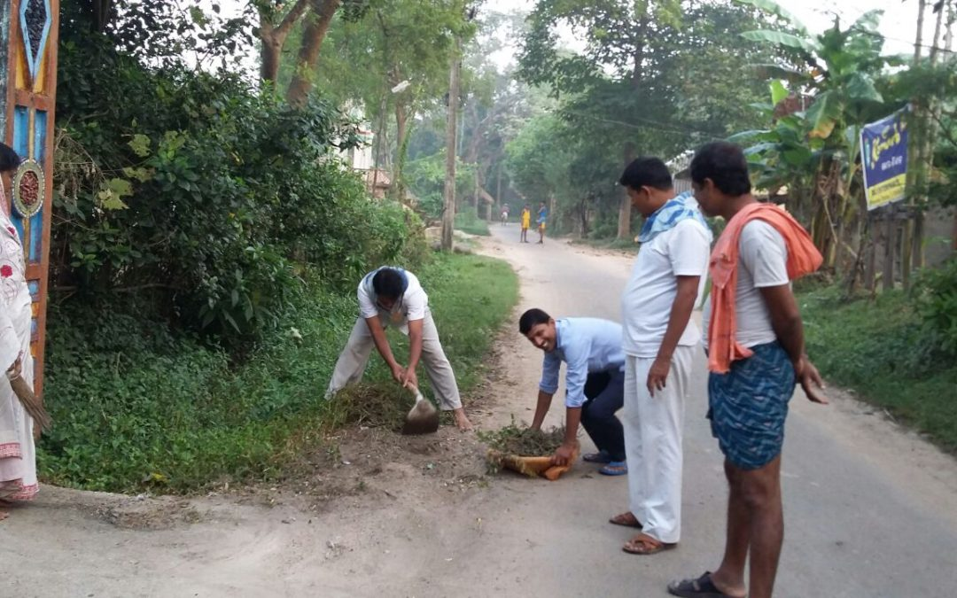 Binayakpur samithi of Bhadrak2 district does Seva