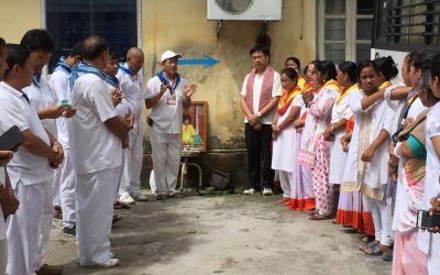 Namchi samithi of SOUTH district does Seva