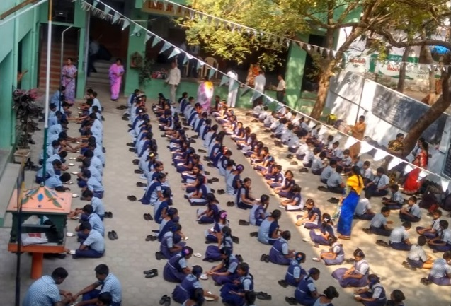 Chanting of Sai Gayathri by 34 thousand Children