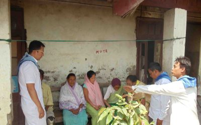 Help to Leprosy Patients- Manipur