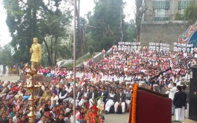 All India President Visit to Darjeeling ( North and south ) -30th April 2017