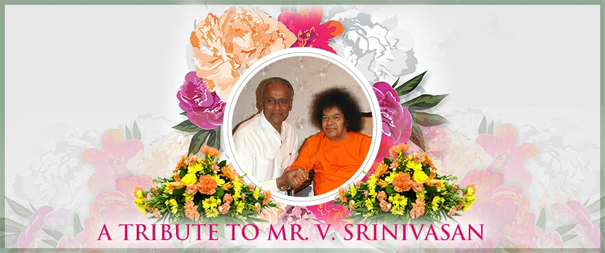 Tributes to Sri V Srinivasan