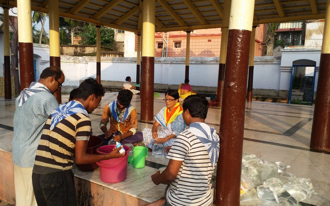 Flood Relief activities-West Bengal