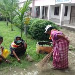 ARJUNI samithi of MIDNAPORE(WEST) district does Seva