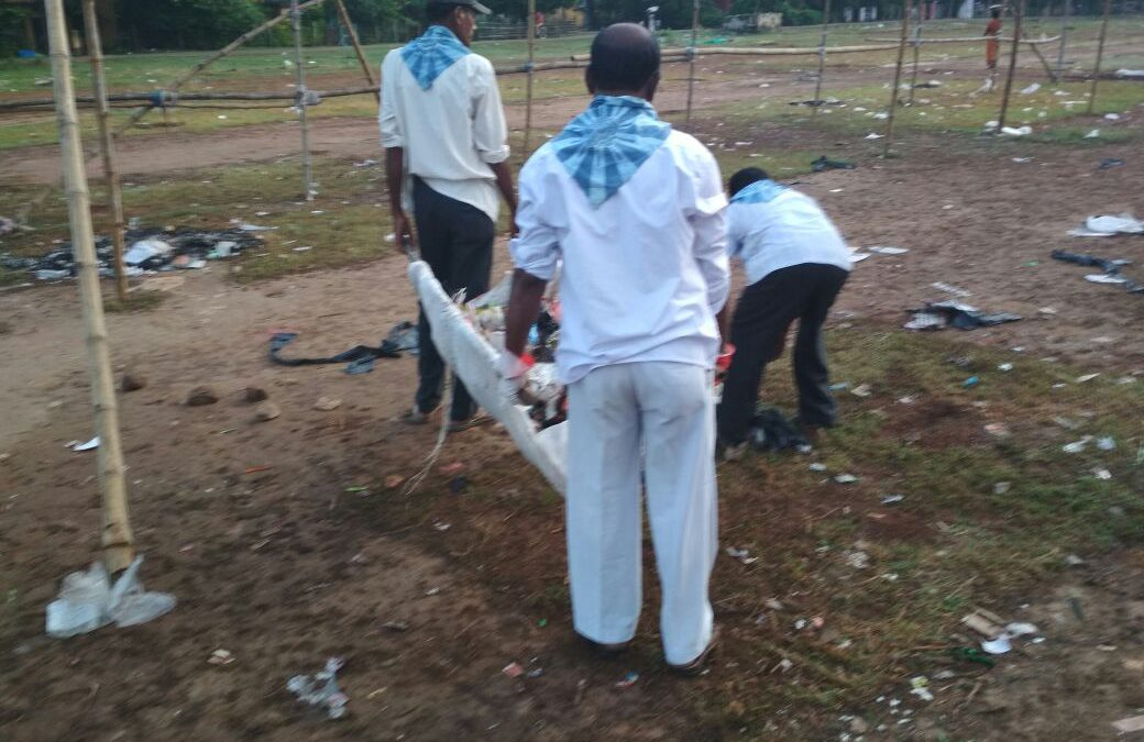 KHARGAPUR,NEW SETTLEMENT samithi of MIDNAPORE(WEST) district (West Bengal) does Seva