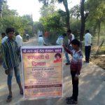 RAIPUR samithi of *HOSHANGABAD district (Madhya Pradesh) does Seva