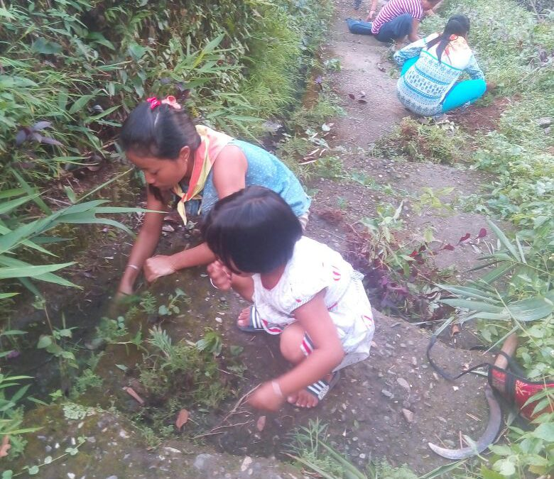 GAIRIBAS samithi of DARJEELING(SOUTH) district (West Bengal) does Seva