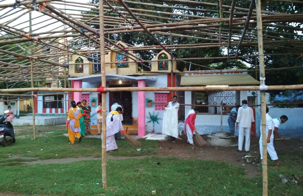KHARGAPUR,OLD SETTLEMENT samithi of MIDNAPORE(WEST) district (West Bengal) does Seva