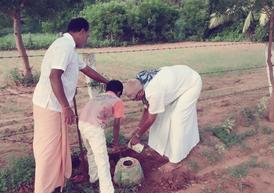 Cumbum samithi of Theni district (Tamilnadu) does Seva