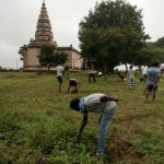 Cognoli samithi of Kolhapur district (Maharashtra) does Seva