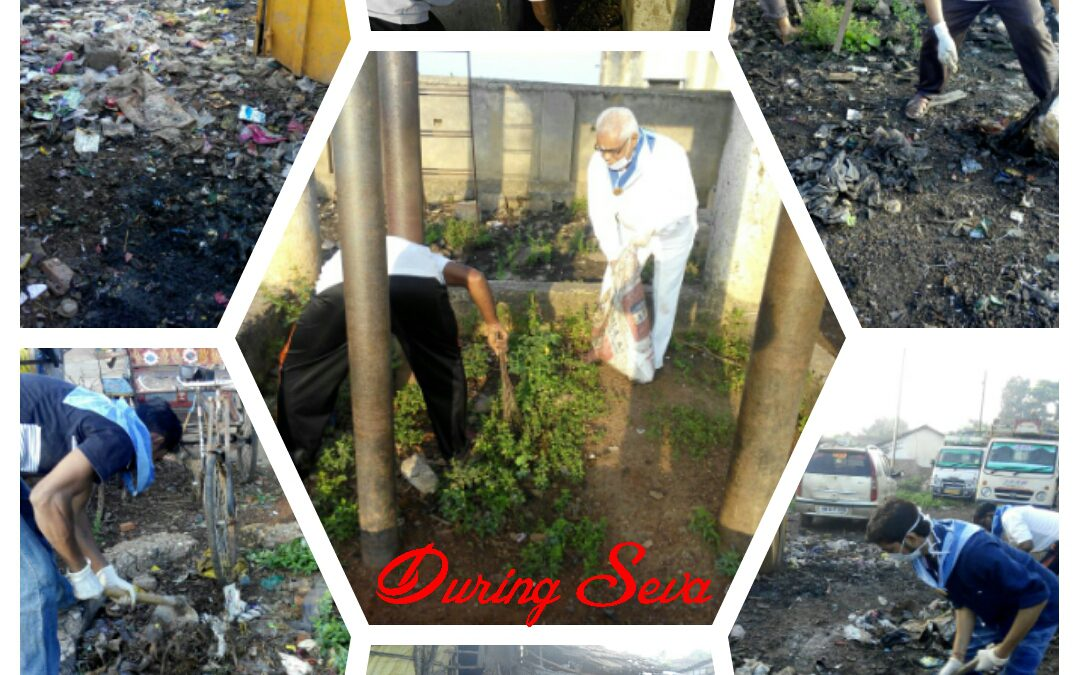 Gadchiroli samithi of Gadchiroli district (Maharashtra) does Seva