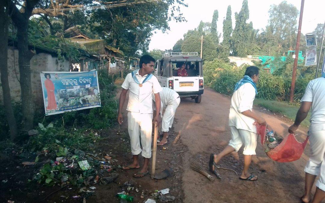 Ghanteswar samithi of Bhadrak2 district (Odisha) does Seva