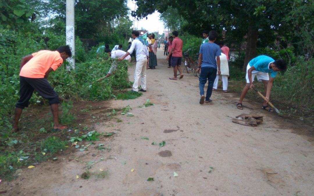 Khariar  samithi of Nuapada district (Odisha) does Seva