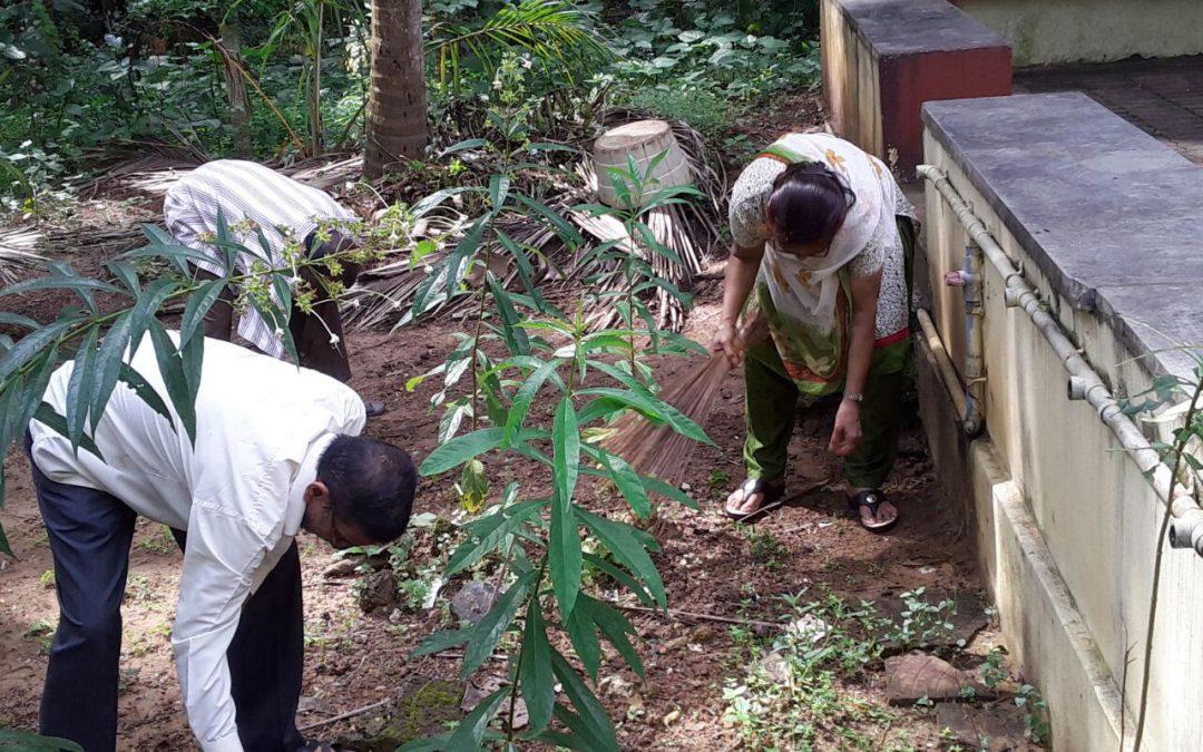 MAJALI samithi of NORTH KANARA district (Karnataka) does Seva