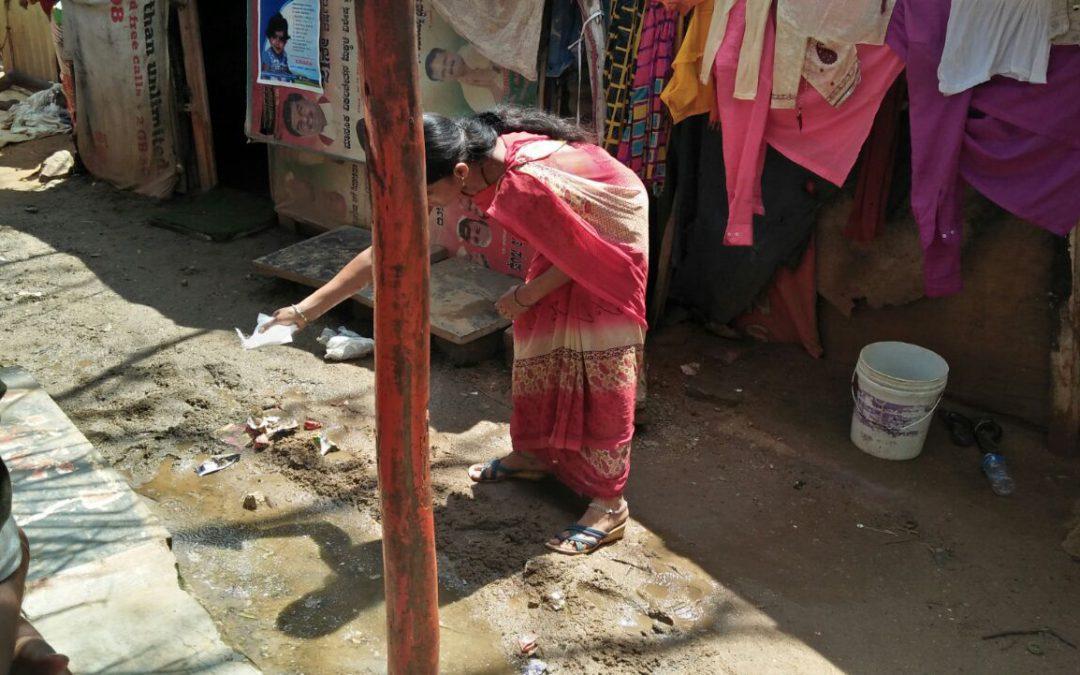 CHANDRA LAYOUT samithi of BANGALORE WEST district (Karnataka) does Seva