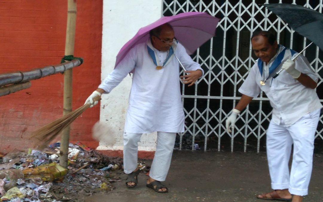 DIGHOLTARI samithi of COOCHBEHAR district (West Bengal) does Seva