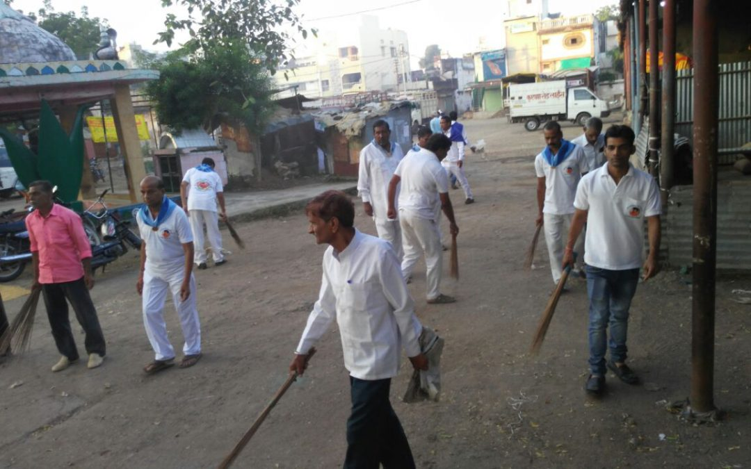 *GOTEGAON samithi of *NARSIMHPUR district (Madhya Pradesh) does Seva