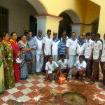 Srirangam samithi of Trichy district (Tamilnadu) does Seva