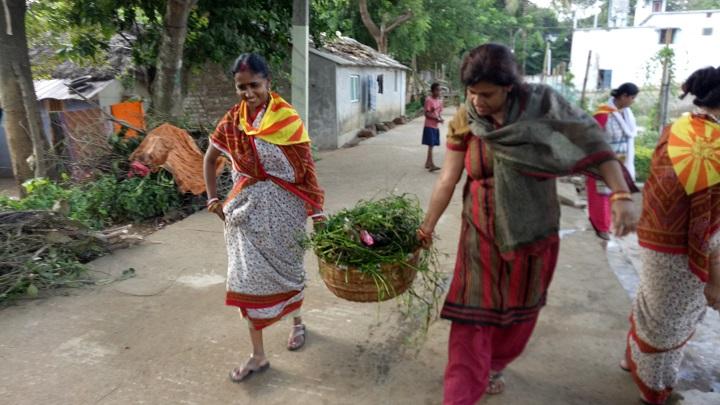 Jajpur Road samithi of Jajpur district (Odisha) does Seva