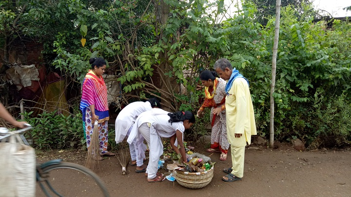 Jajpur Road samithi of Jajpur district (Odisha) does Seva
