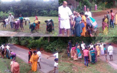HEBRI samithi of UDUPI district (Karnataka) does Seva