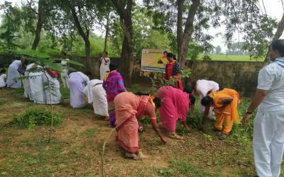 Manugur samithi of Bhadradri (Kothagudem) district (Telangana) does Seva