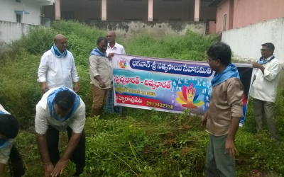 Aswaraopeta samithi of Bhadradri (Kothagudem) district (Telangana) does Seva