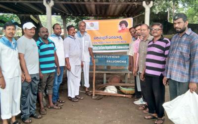 Palvoncha samithi of Bhadradri (Kothagudem) district (Telangana) does Seva