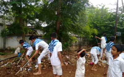 Kottagudem samithi of Bhadradri (Kothagudem) district (Telangana) does Seva