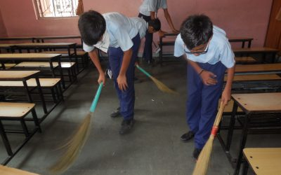 SSS School samithi of Surat district (Gujarat) does Seva