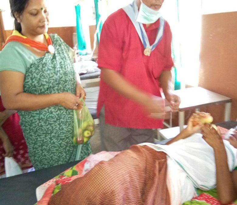Lakhimpur samithi of Lakhimpur district (Assam) does Seva