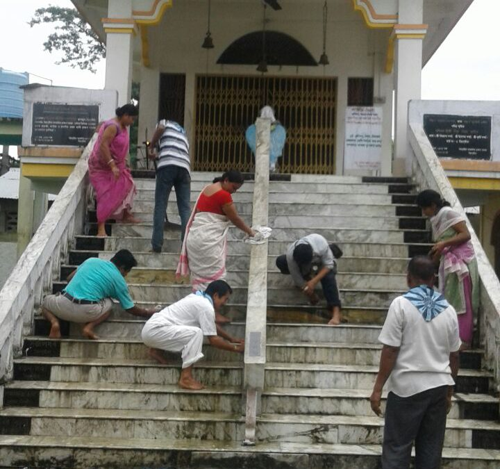 Lakhimpur samithi of Lakhimpur district (Assam) does Seva