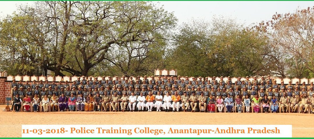 Disaster Management (DM) Training to Police Personnel-Anantapur-AP