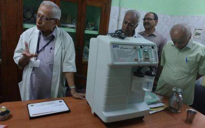Donation of Oxygen Generator Machine-Tamil Nadu-March 2018