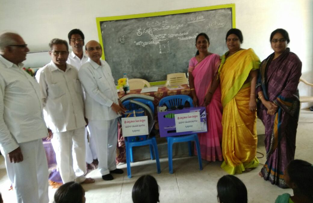 Installation of Sanitary Napkins Machines- Krishna Dist-AP