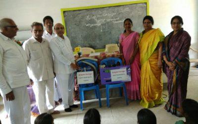 Installation of Sanitary Napkins Machines- Krishna Dist-AP