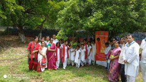 Tree Plantation drive by Balvikas Students of Guwahati Samithi, Assam