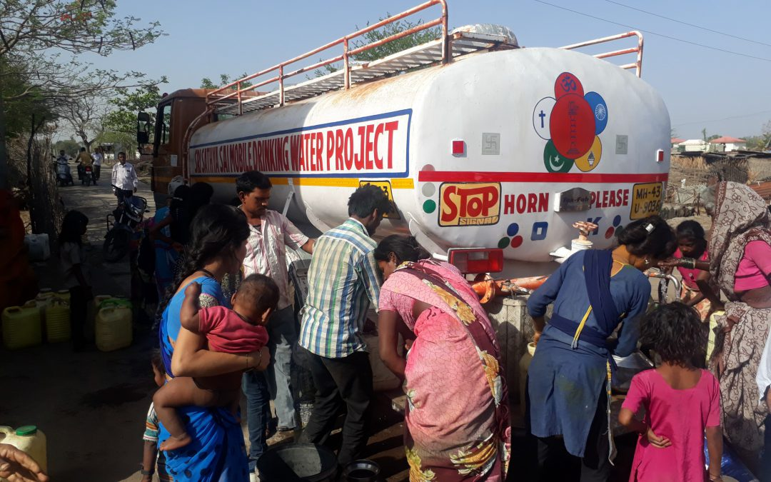 'Sri Sathya Sai Mobile Water Project' at Washim District, Maharashtra