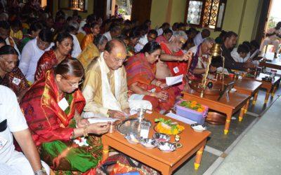 Mass Rudrabhishekam At Somnath Temple, Gujarat.
