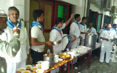 Distributed Rose Milk and Sweets to Muslim brothers-Ramadan in Chennai