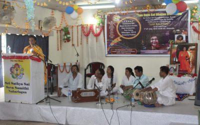 Sai BhajanWorkshop conducted at Arunachal Pradesh