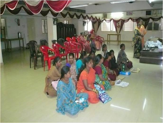 Prenatal / Antenatal program for expectant mothers ~ Chennai Metro South, SSSSO Tamil Nadu
