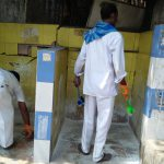 DUM DUM CANTONMENT samithi of NORTH 24 PARGANAS district (West Bengal) does Seva
