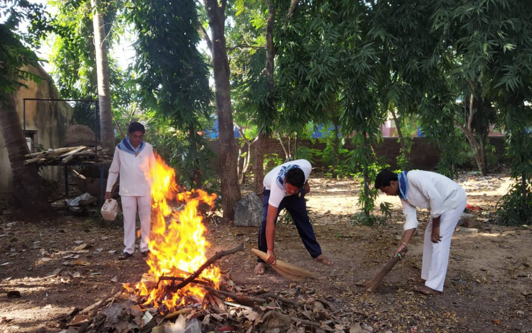 Sambalpur samithi of Sambalpur district (Odisha) does Seva