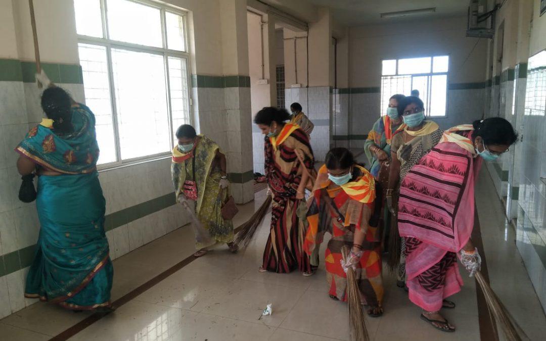 City Samithi samithi of Visakhapatnam district (Andhra Pradesh) does Seva